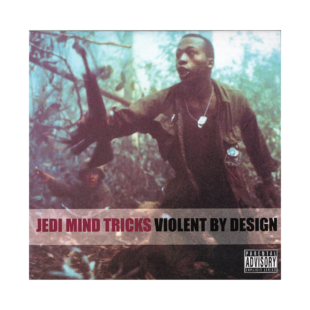 Jedi Mind Tricks - 'Violent By Design' [(Clear) Vinyl [2LP]]