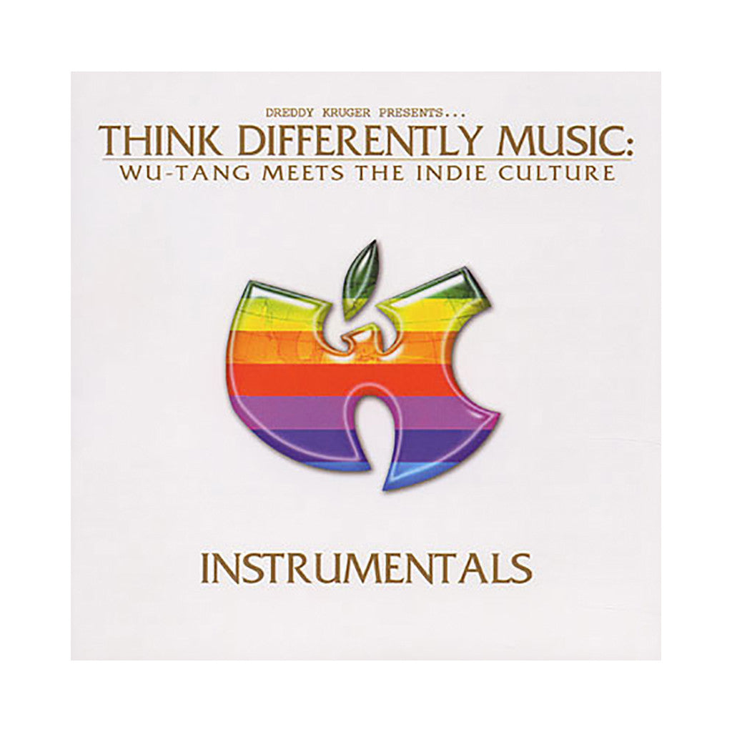 Think Differently Music (Dreddy Kruger Presents) - 'Wu-Tang Meets The Indie Culture (Instrumentals)' [CD]