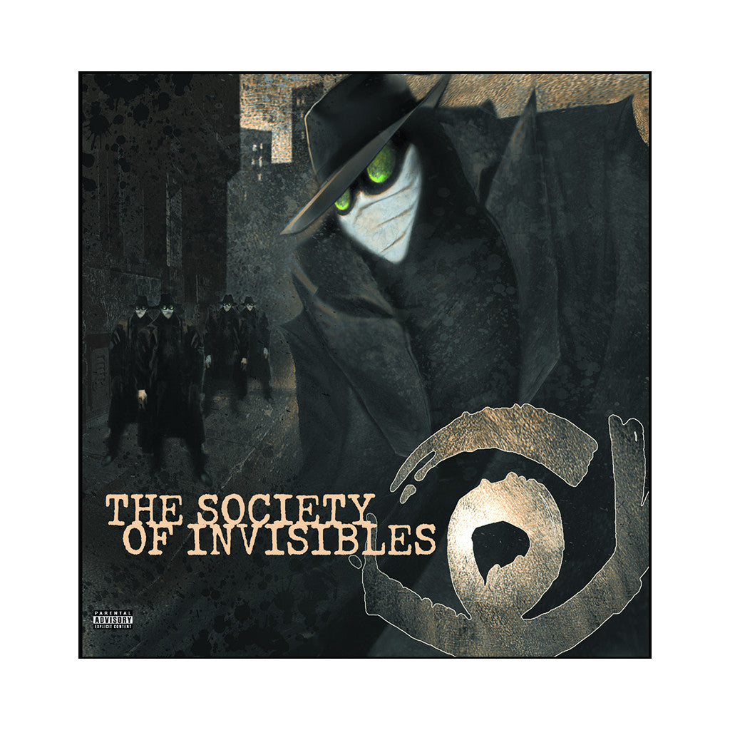 <!--020060725007748-->Society Of Invisibles - 'Society Of Invisibles' [CD]