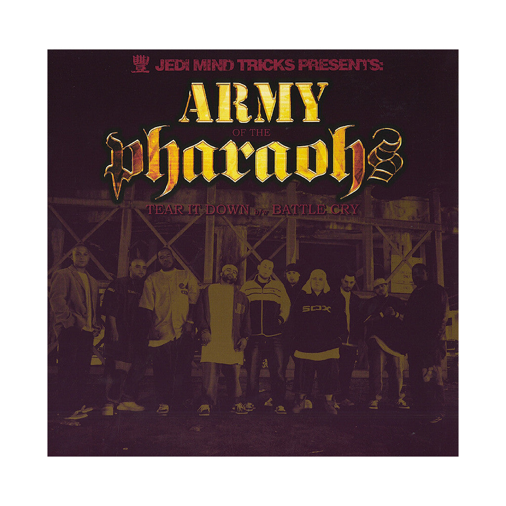 "<!--120060411007176-->Army Of The Pharaohs - 'Tear It Down/ Battle Cry' [(Black) 12"""" Vinyl Single]"