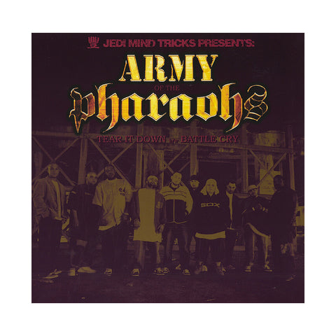 "[""Army Of The Pharaohs - 'Tear It Down/ Battle Cry' [(Black) 12\"" Vinyl Single]""]"