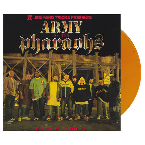 "Army Of The Pharaohs - 'Tear It Down/ Battle Cry' [(Clear Yellow) 12"" Vinyl Single]"