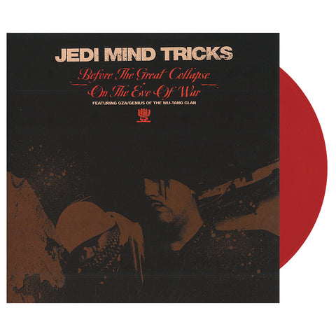 "Jedi Mind Tricks - 'Before The Great Collapse/ On The Eve Of War' [(Clear Red) 12"""" Vinyl Single]"