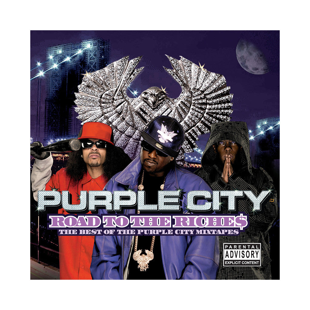 Purple City - 'Road To Riches: Best Of Purple City Mixtape' [CD]