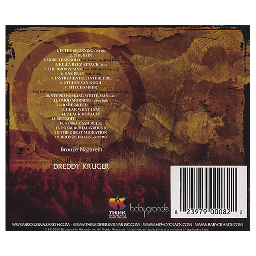 <!--020060523007166-->Bronze Nazareth - 'The Great Migration' [CD]