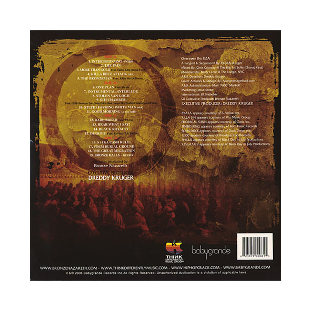 Bronze Nazareth - 'The Great Migration' [(Black) Vinyl [2LP]]