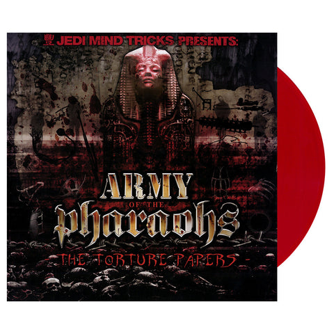Army Of The Pharaohs - 'The Torture Papers' [(Clear Red) Vinyl [2LP]]