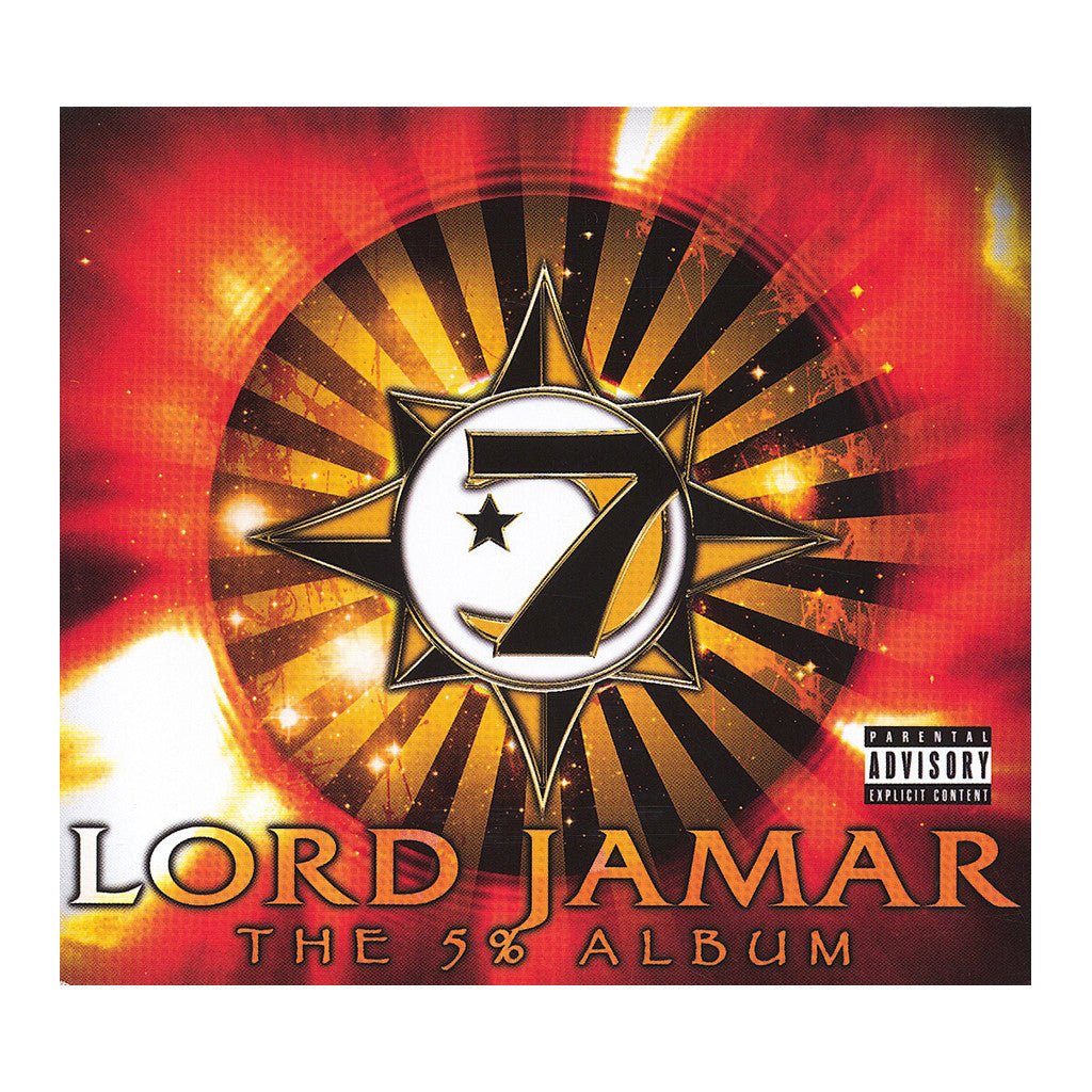 <!--020060627007356-->Lord Jamar - 'The 5% Album' [(Black) Vinyl [2LP]]