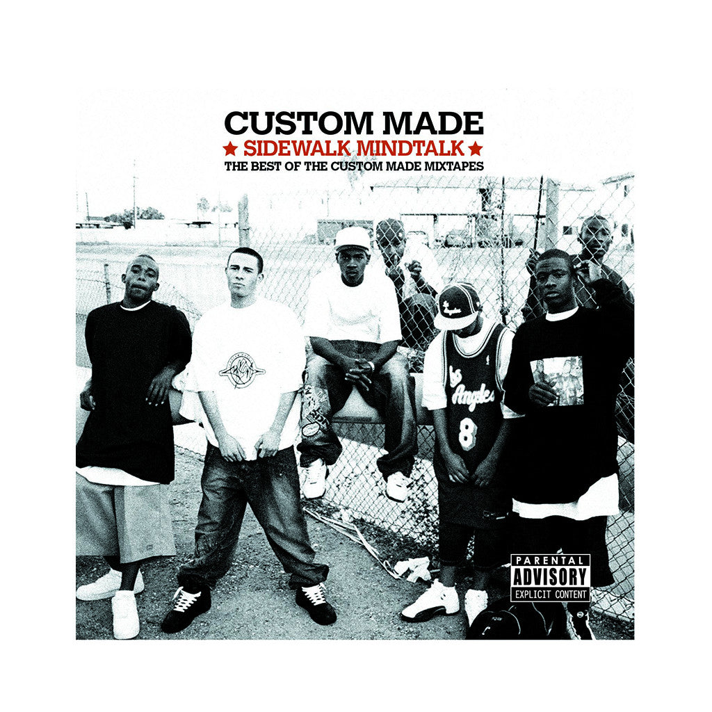 Custom Made - 'Sidewak Mindtalk: The Best Of The Custom Made Mixtapes' [(Black) Vinyl [2LP]]