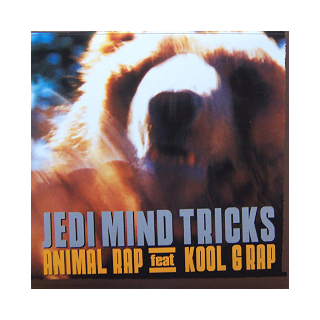 "<!--020030221002885-->Jedi Mind Tricks - 'Animal Rap/ Animal Rap (Remixes)' [(Black) 12"" Vinyl Single]"