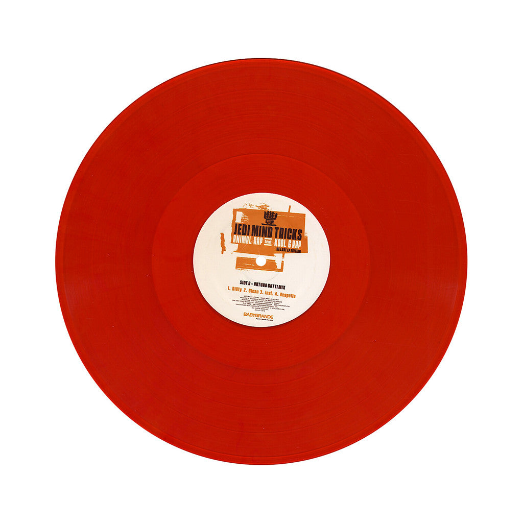 "<!--120140107060740-->Jedi Mind Tricks - 'Animal Rap: Deluxe EP Edition' [(Clear Orange) Vinyl [2x12""]]"
