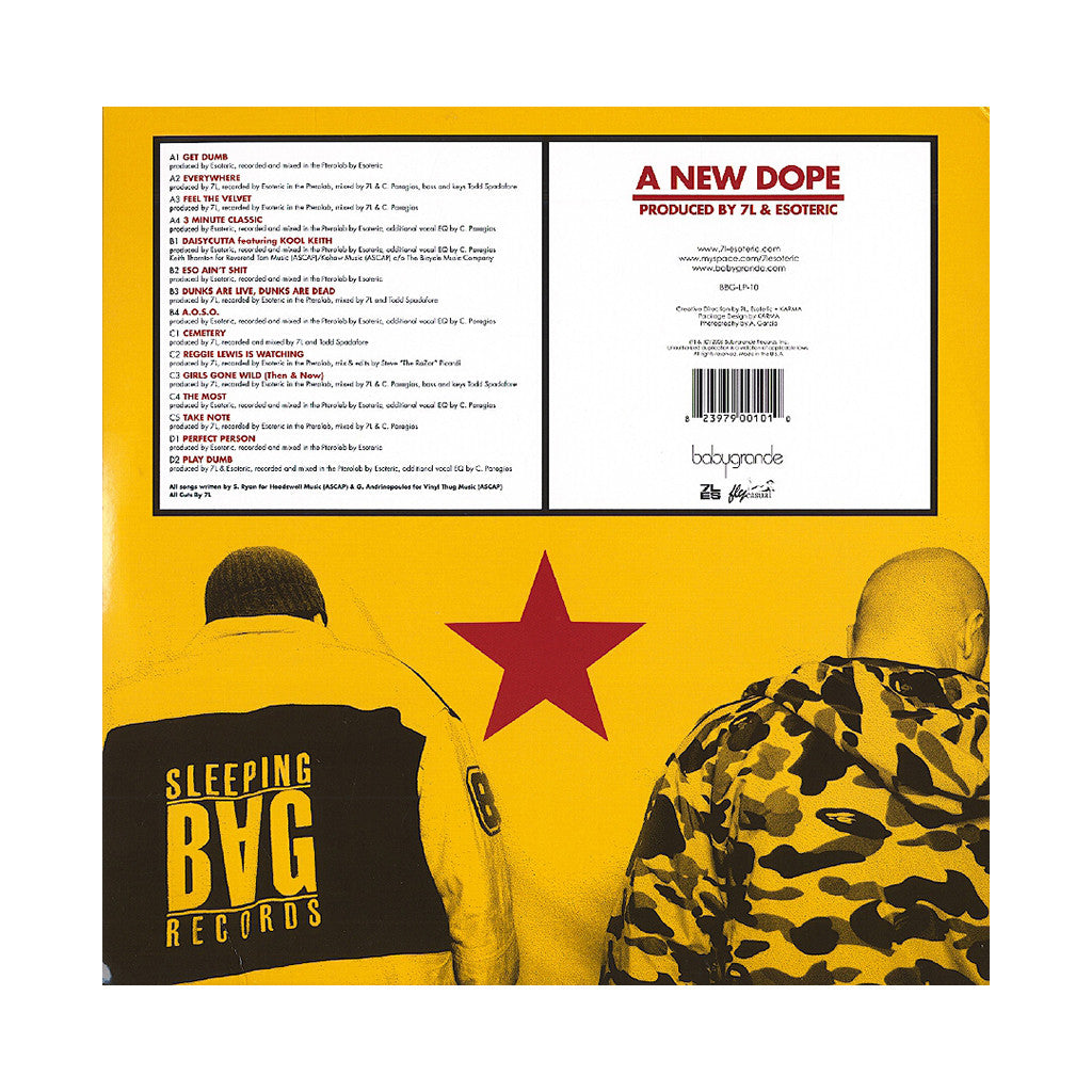 7L & Esoteric - 'A New Dope' [(Black) Vinyl [2LP]]