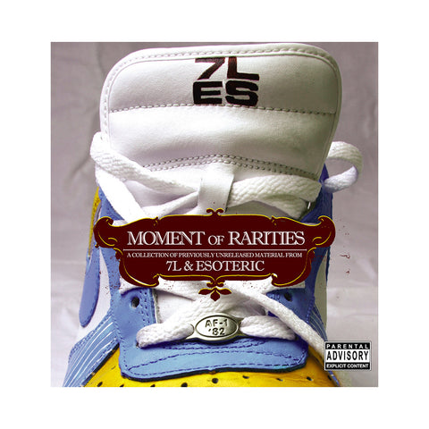 7L & Esoteric - 'Moment Of Rarities' [CD]