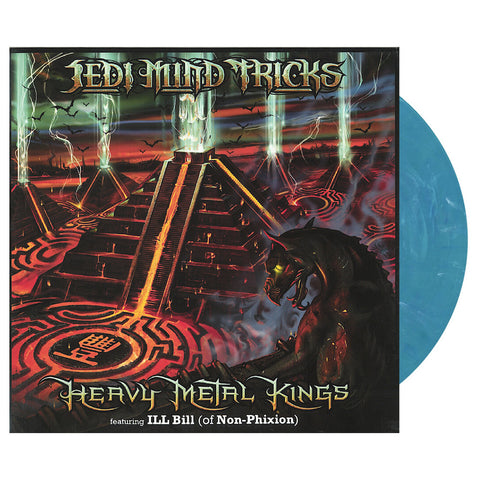 "Jedi Mind Tricks - 'Heavy Metal Kings' [(Turquoise) 12"""" Vinyl Single]"