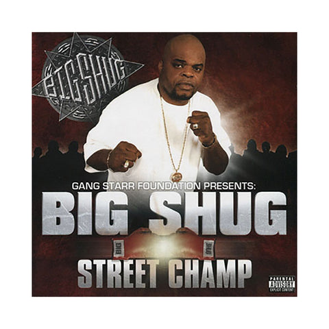 Big Shug - 'Street Champ' [CD]