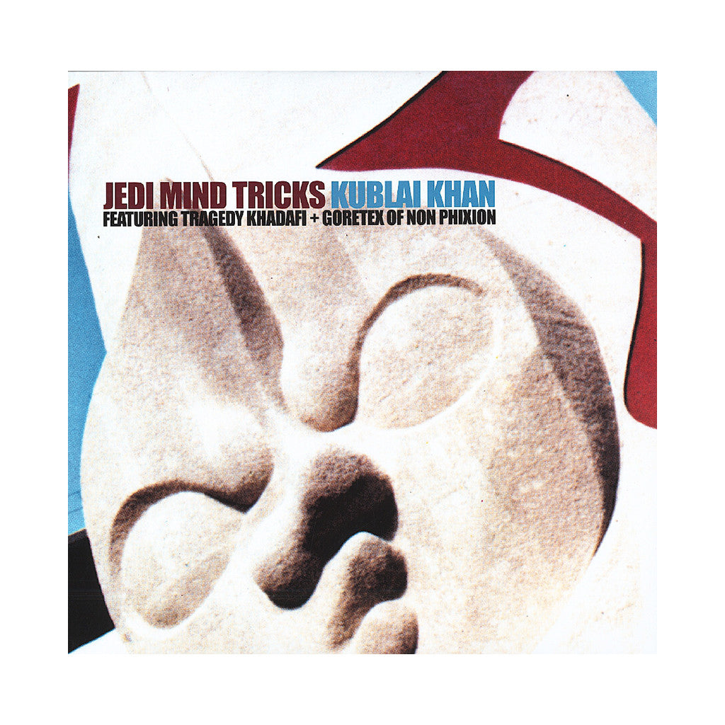 "<!--120130903057369-->Jedi Mind Tricks - 'Kublai Khan' [(Clear Blue) 12"" Vinyl Single]"