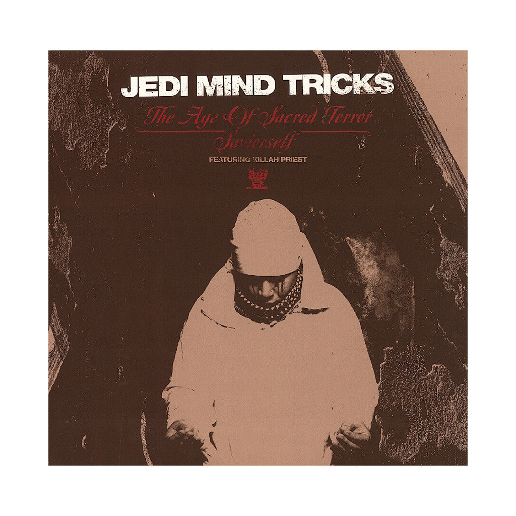 "<!--020130903057368-->Jedi Mind Tricks - 'The Age Of Sacred Terror/ Saviorself' [(Clear Red) 12"" Vinyl Single]"