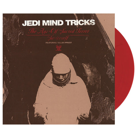 "Jedi Mind Tricks - 'The Age Of Sacred Terror/ Saviorself' [(Clear Red) 12"""" Vinyl Single]"