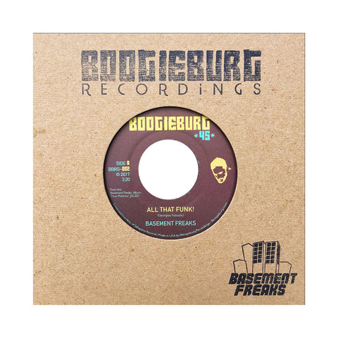 "Basement Freaks - 'All That Funk!/ Calling The Jams' [(Black) 7"" Vinyl Single]"