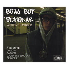 <!--020120925050159-->Beat Bop Scholar - 'Authentic Minded' [CD]