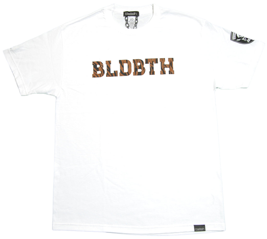 <!--2012071059-->Bloodbath - 'Bengal' [(White) T-Shirt]