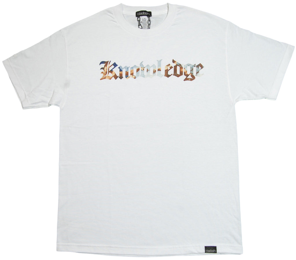 <!--2013041637-->Bloodbath - 'Knowledge' [(White) T-Shirt]
