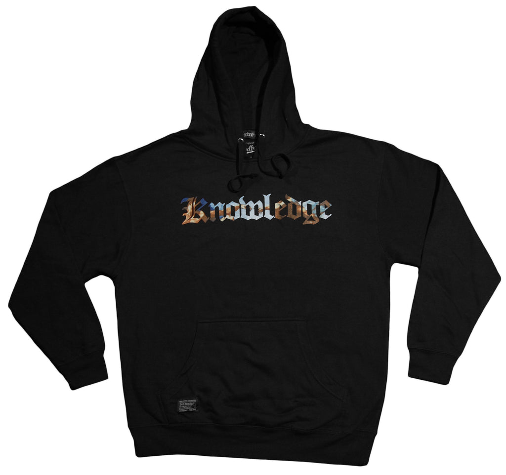 <!--2013041641-->Bloodbath - 'Knowledge' [(Black) Hooded Sweatshirt]
