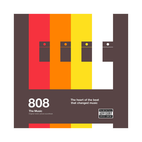 "[""Various Artists - '808: The Music (Original Motion Picture Soundtrack)' [(Black) Vinyl [2LP]]""]"