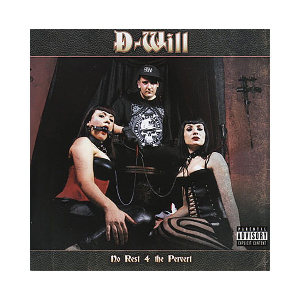 <!--020010608032839-->D-Will - 'No Rest 4 The Pervert' [CD]