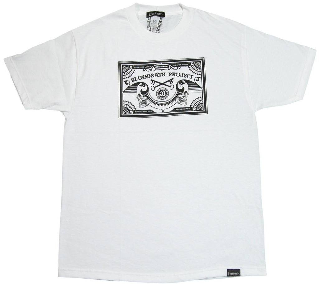 <!--2012011000-->Bloodbath - 'Death Label' [(White) T-Shirt]