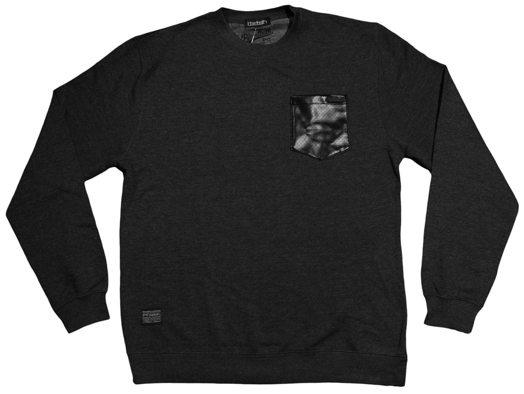 <!--2013010859-->Bloodbath - 'Preface' [(Dark Gray) Crewneck Sweatshirt]