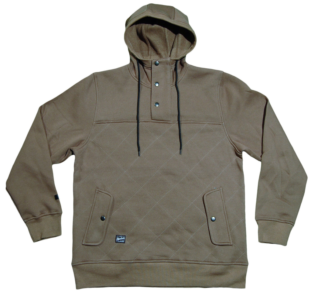 <!--2013010846-->Bloodbath - 'Quincy Pullover' [(Light Brown) Jacket]