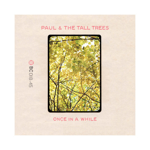 "Paul & The Tall Trees - 'Once In A While/ The Little Bit Of Sunshine' [(Black) 7"" Vinyl Single]"