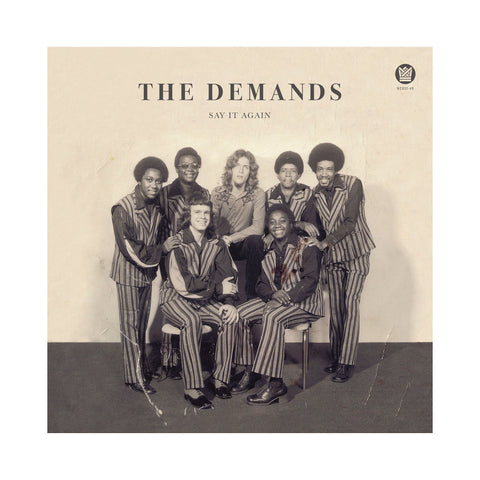 "The Demands - 'Say It Again/ Let Me Be Myself' [(Black) 7"" Vinyl Single]"