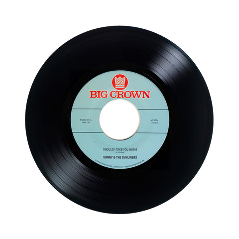 "Sunny & The Sunliners - 'Should I Take You Home/ My Dream' [(Black) 7"" Vinyl Single]"