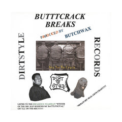 <!--020010101012486-->Butchwax - 'Butt Crack Breaks' [(Black) Vinyl LP]