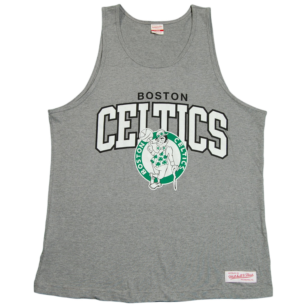 <!--2012052227-->Mitchell & Ness x NBA - 'Boston Celtics: NBA Arch w/ Logo' [(Gray) Tank Top]