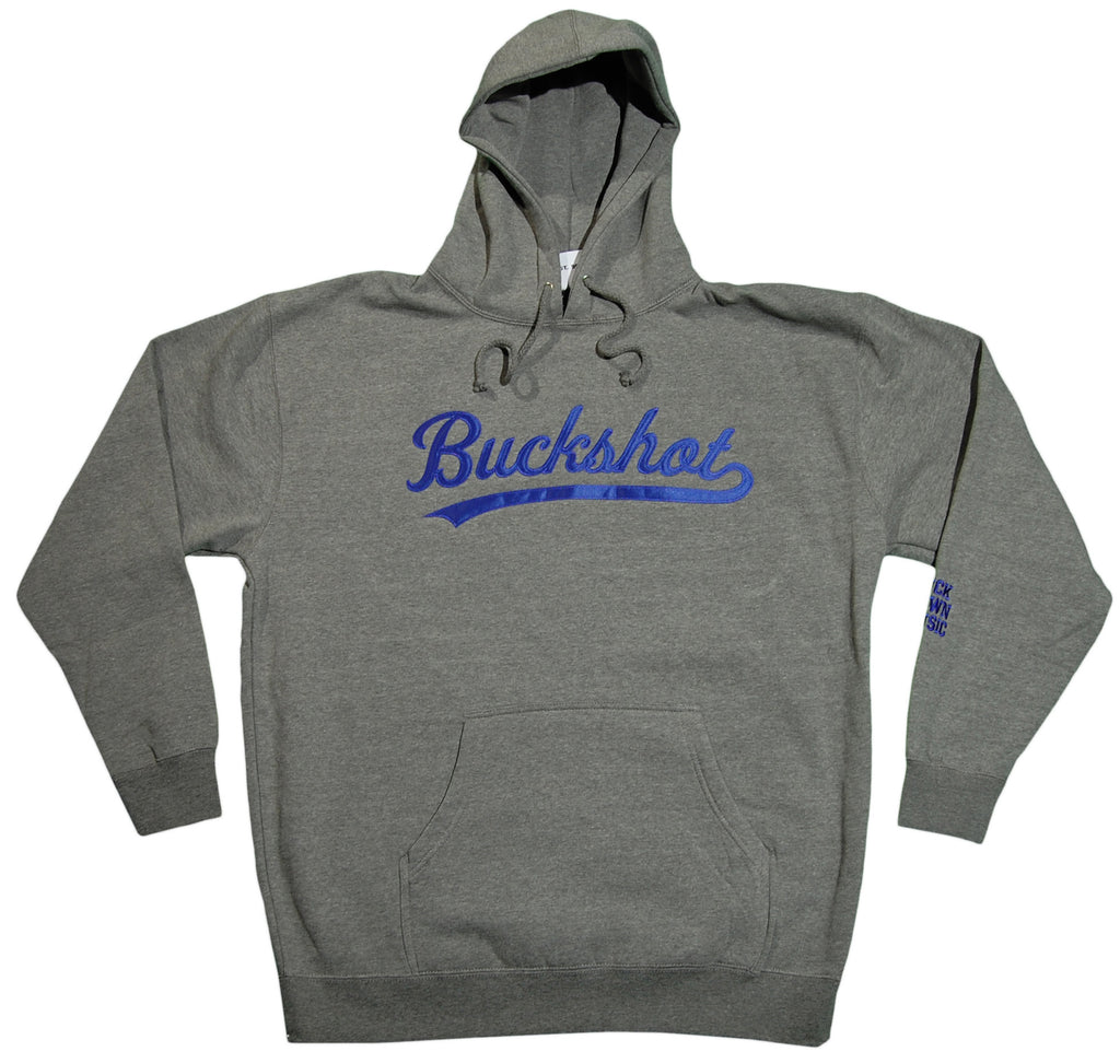 <!--2012011744-->Buckshot - 'Logo' [(Gray) Hooded Sweatshirt]