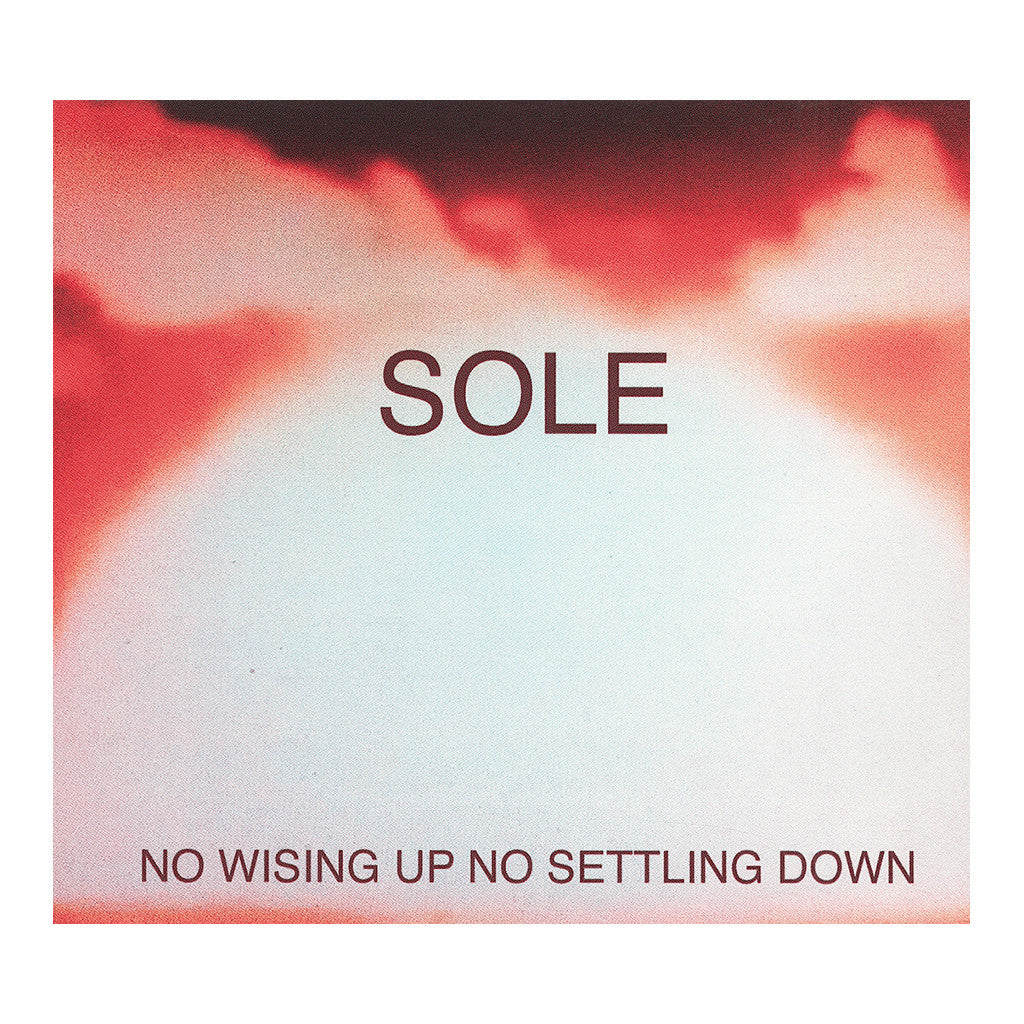 <!--020130430054762-->Sole - 'No Wising Up No Settling Down' [CD]