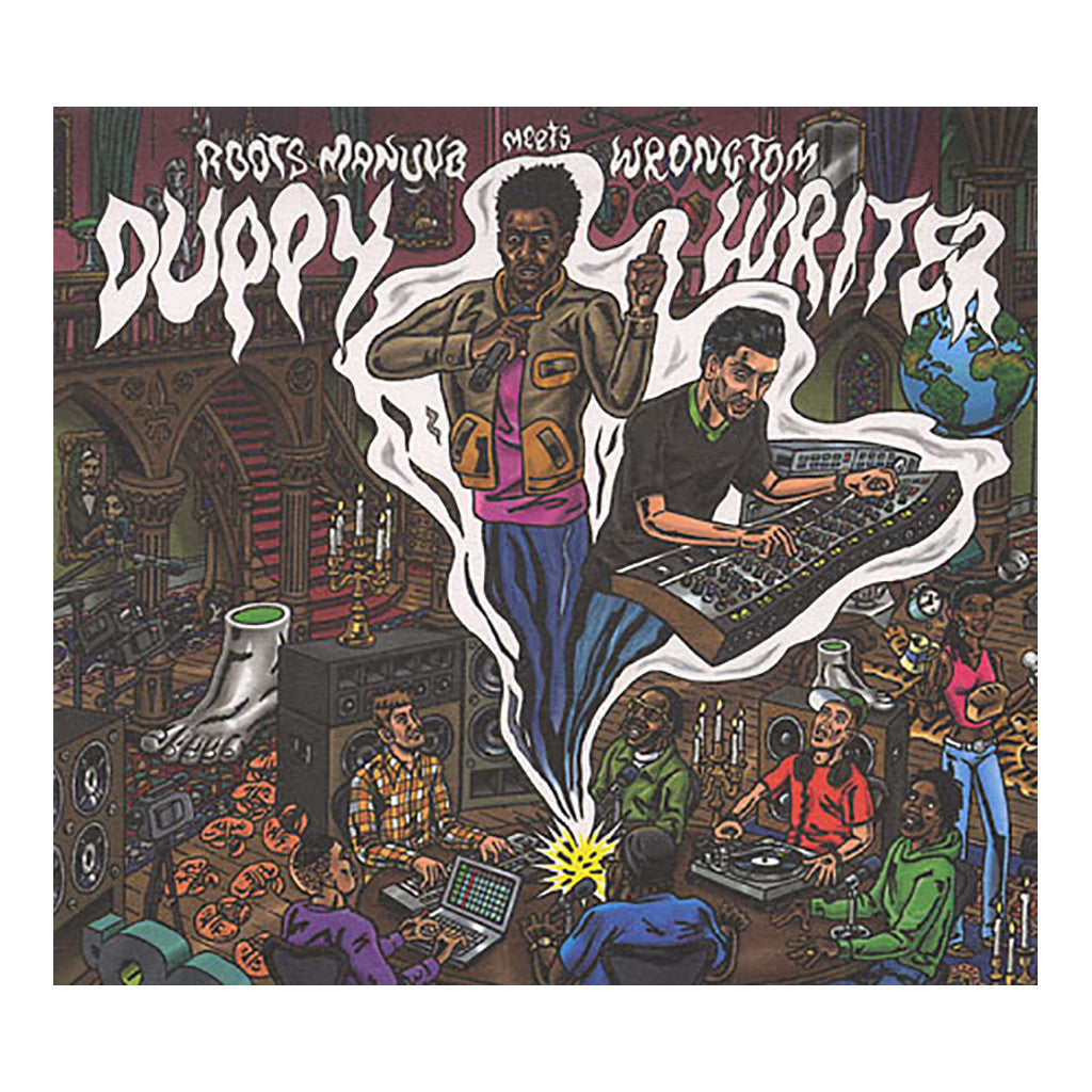 <!--120100921022268-->Roots Manuva Meets Wrongtom - 'Duppy Writer' [CD]