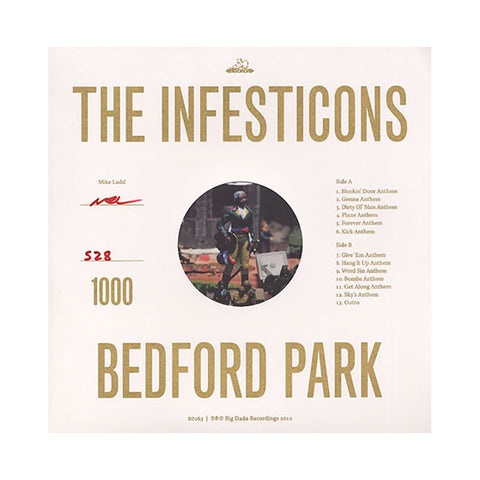 The Infesticons - 'Bedford Park' [(Black) Vinyl LP]