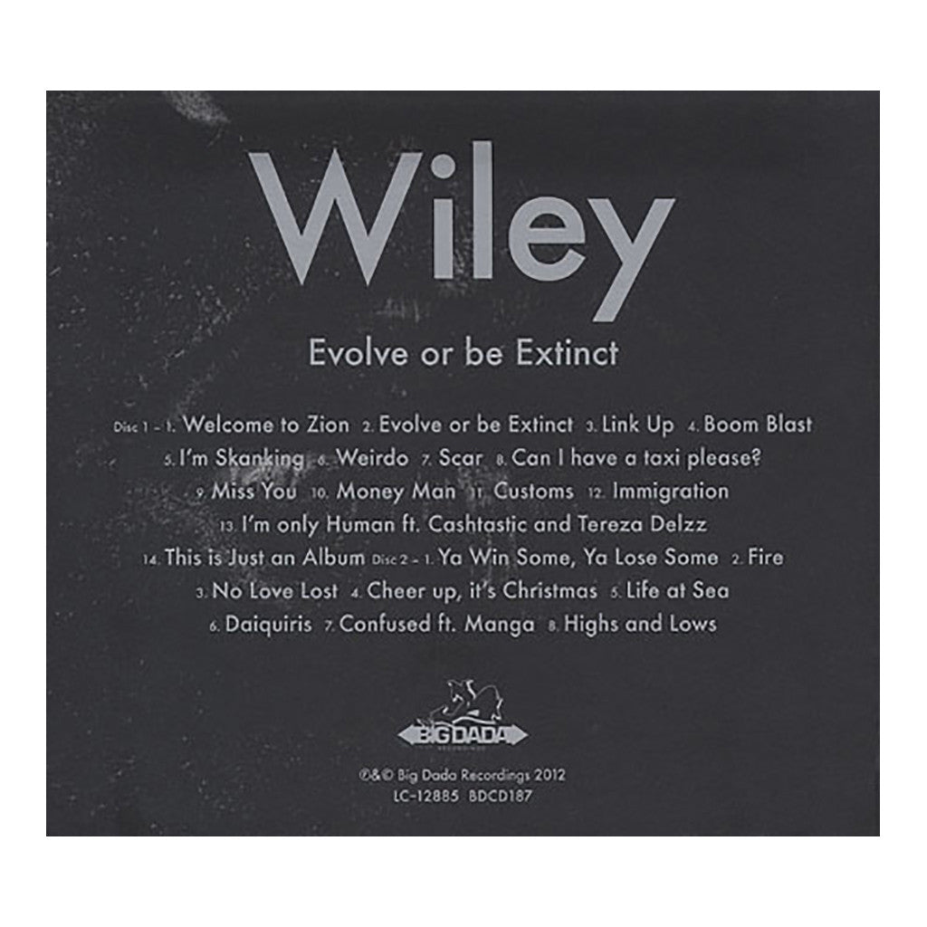 <!--120120131038928-->Wiley - 'Evolve Or Be Extinct' [CD [2CD]]