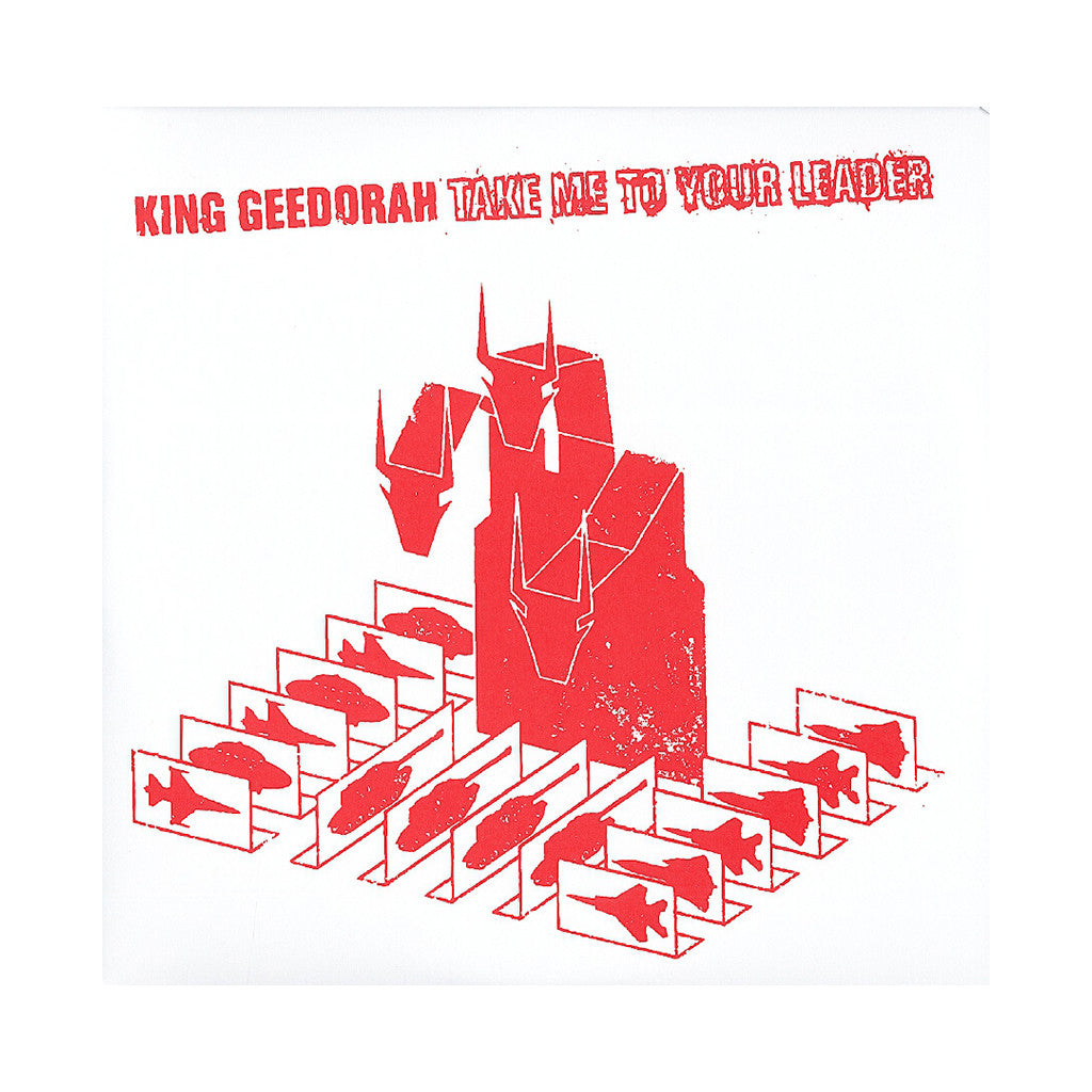 <!--120130604056137-->King Geedorah - 'Take Me To Your Leader' [(Black) Vinyl [2LP]]