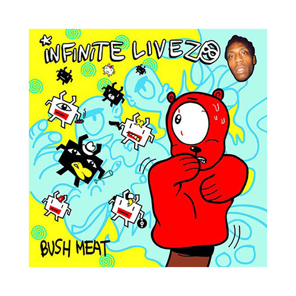 Infinite Livez - 'Bush Meat' [CD]