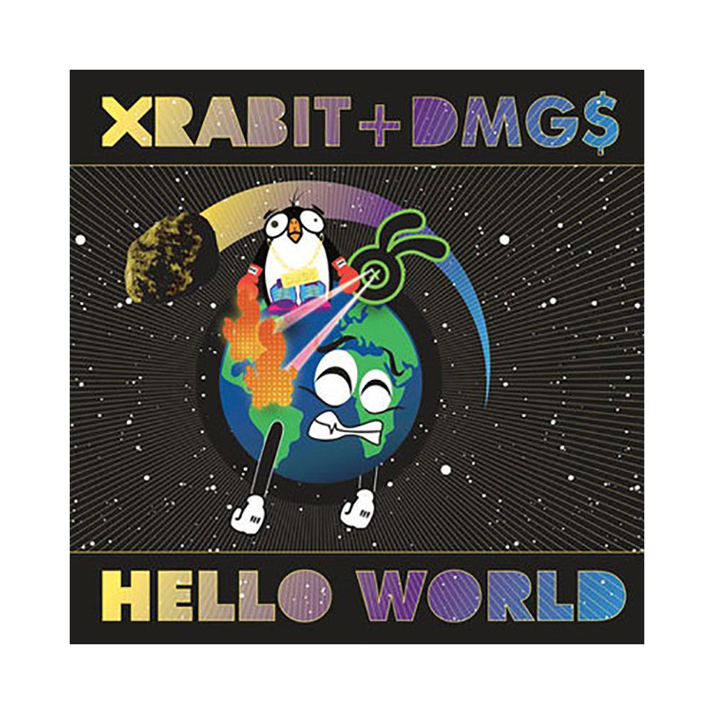 <!--120090317000044-->Xrabit + DMG$ - 'Hello World' [(Black) Vinyl [2LP]]