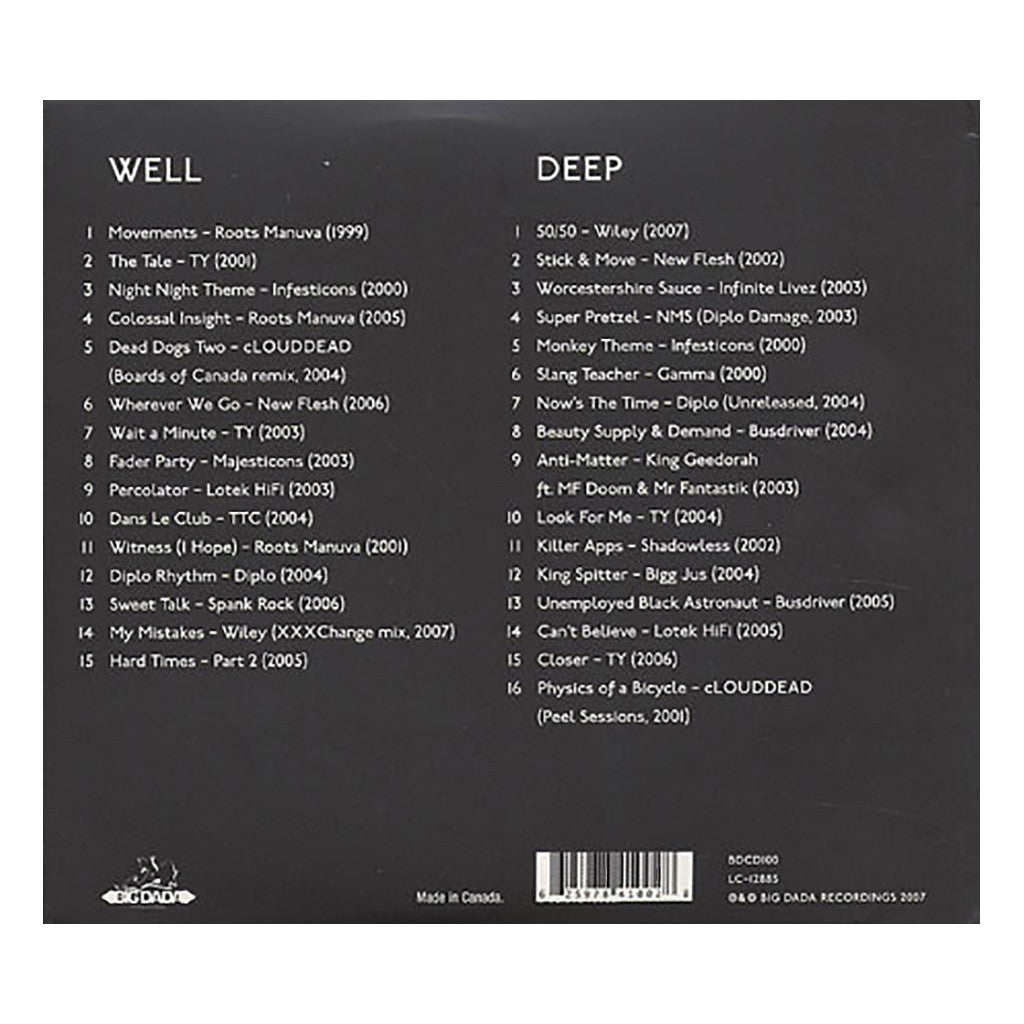 <!--120070724010926-->Various Artists - 'Well Deep: Ten Years Of Big Dada Recordings' [CD [2CD]]