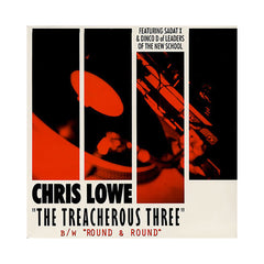 "<!--020010501016164-->Chris Lowe - 'The Treacherous Three/ Round & Round' [(Black) 12"" Vinyl Single]"