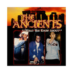 "<!--2001041730-->The Ancients - 'What You Know About/ 20 20' [(Black) 12"" Vinyl Single]"