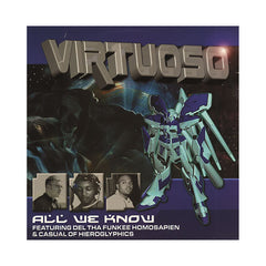 "<!--020010501021888-->Virtuoso - 'All We Know/ One' [(Black) 12"" Vinyl Single]"