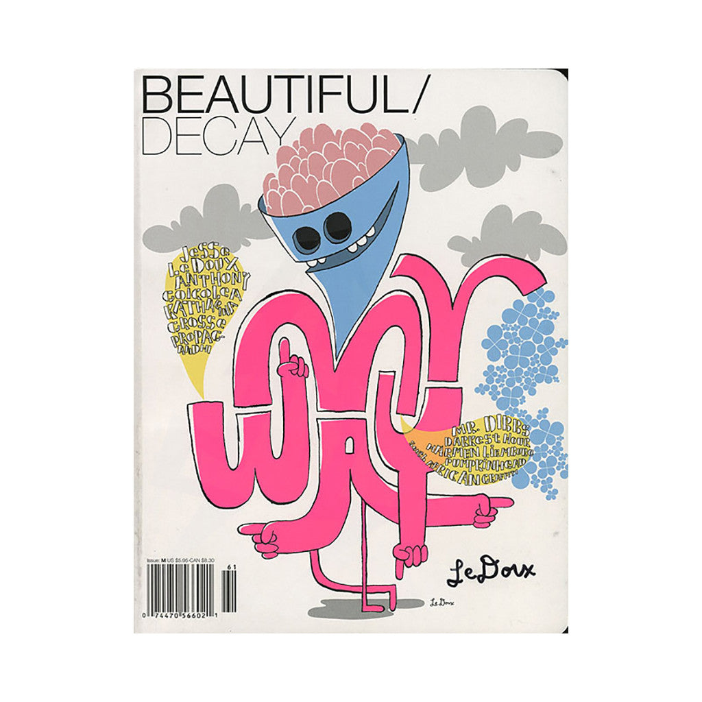 <!--020050801034089-->Beautiful Decay - 'Issue M' [Magazine]
